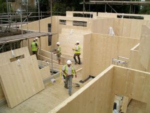 timber construction material