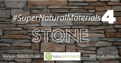 building with stone super natural materials