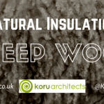 sheep wool, natural materials, natural insulation, koru architects, eco architects