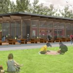 Hove Park cafe, Pavilion Tea House, Brighton, Hove, Koru Architects