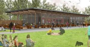 Hove Park cafe, Pavilion Tea House, Brighton, Hove, Koru Architects